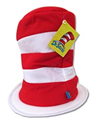 Dr. Suess Red Stripes Adjustable Tall Hat