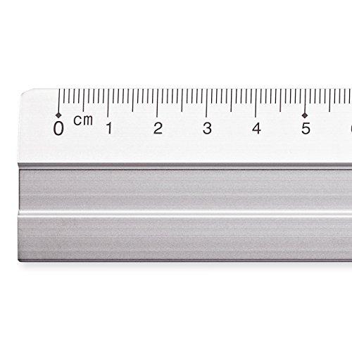 amazon com steadtler mars 563 30 aluminium ruler 30 cm office