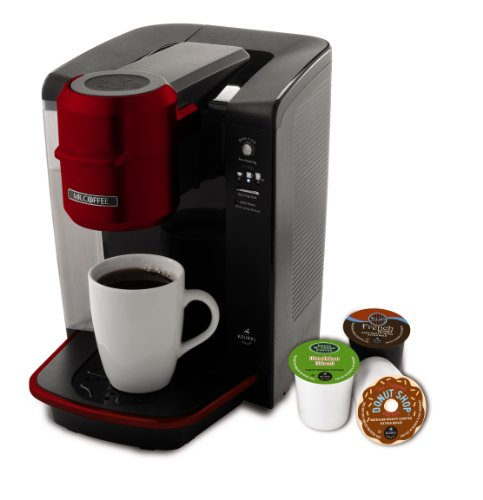 Mr. Coffee Single Serve 40 oz. Coffee Brewer, Red