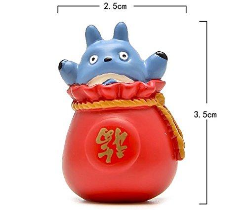 1pcs DIY Festive Supplies Totoro Figures Kids Toys Miyazaki Anime My Neighbor Totoro PVC Action Figure Collectible Model Toy