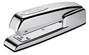 Swingline Stapler, 747, Business, Manual, 25 Sheet Capacity, Desktop, Collectors Edition, Polished Chrome (74720)