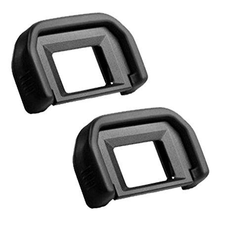 Shenligod [2 Pack] EF Viewfinder Eyepiece Eyecup Eye Cup Rubbe for Canon EOS 1100D 600D 550D 500D 450D 400D 350D 300D T6s T6i T6 T5i T5 T4i T3i T3 T2i - Viewfinder Eyepiece