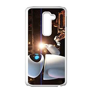SANLSI wall-e and eve wide Case Cover For LG G2 Case