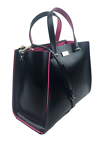 Kate Spade New York Arbour Hill Krya Handbag WKRU4197 (Black/Pink)
