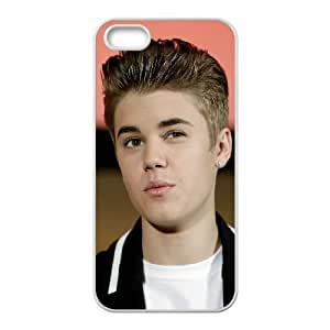 Justin Bieber iPhone 5 5s Cell Phone Case White xlb-284866