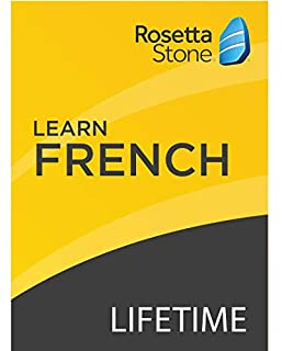 Rosetta Stone: Learn French with Lifetime Access on iOS, Android, PC, and Mac [Activation Code by Mail] (B07HGR7H2M) | Amazon price tracker / tracking, Amazon price history charts, Amazon price watches, Amazon price drop alerts