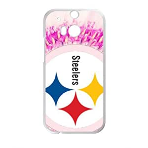 Happy Steelers Fahionable And Popular Back Case Cover For HTC One M8