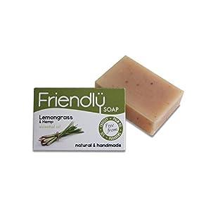 Friendly Soap Natural Handmade Lemongrass & He...