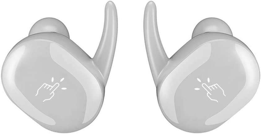 SamMoSon 2019 Mini Auriculares Bluetooth Deportivos,Auriculares Inalámbricos Kubite Bluetooth para Auriculares con Micrófono Y Caja De Carga