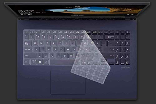Saco Keyboard Protector Silicone Skin Cover for ASUS Vivobook Ultra K513EA-EJ301TS Laptop – Transparent