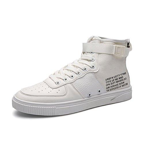 Sneaker di Sunny alto da amp;Baby tacco uomo Bianca unita all'abrasione Dimensione 40 Bianca con moda tinta Resistente Color EU 5fppRwqx