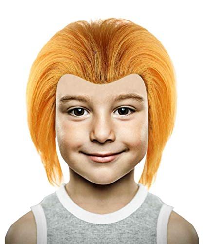 Chucky Cult of Evil Doll Wig, Red Kids HM-181]()