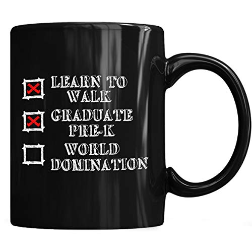 Kids Pre-K Graduation Idea Boys Mug, Graduation Coffee Mug 11oz Gift Black Tea -