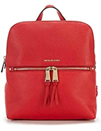 Rhea Medium Slim Leather Backpack