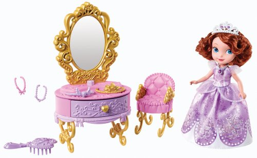 092234003834 - Disney Sofia The First Ready for The Ball Royal Vanity carousel main 0