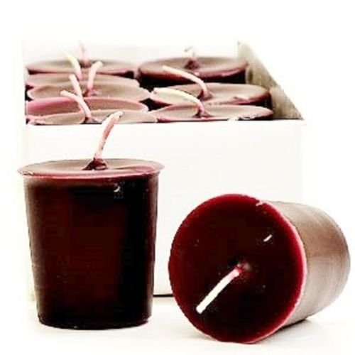 Black Cherry Merlot 15 Hour Soy Votive Candles (6 Pack) (Fifteen Augusta Light)