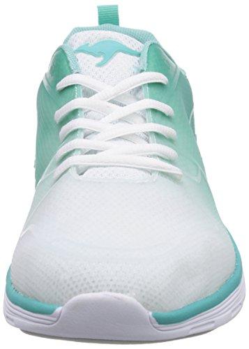 mode 880 Turquoise Kangaroos Baskets Lt 8003 Turquoise femme K White Light 6Fxq7IZ