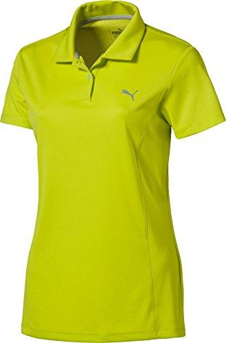 失業別に適用するプーマ トップス シャツ PUMA Women's Pounce Golf Polo NrgyYellow [並行輸入品]