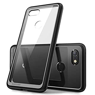 SUPCASE Unicorn Beetle Style Series Case for Google Pixel 3, Clear Protective TPU Bumper PC Premium Hybrid Case for Google Pixel 3 2018 Release -Retail Package (Black)