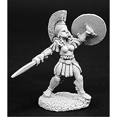 Reaper Miniatures Helena Female Gladiator #02738 Dark Heaven Unpainted Metal: Toys & Games