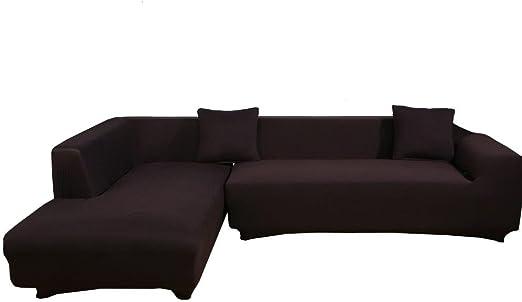 Amazon Com Womaco L Shape Sofa Covers Sectional Sofa Cover 2 Pcs