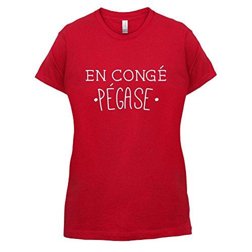 En congé fantasy pégase - Femme T-Shirt - Rouge - XXL