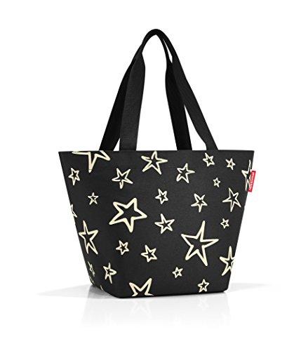 Print Canvas Shopper (reisenthel Shopper M Tote Bag, Stars)