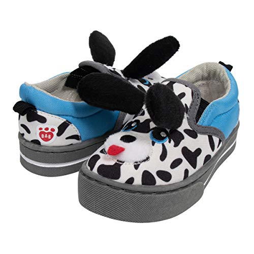 Build A Bear 3D Dalmatian Dog Shoe White -