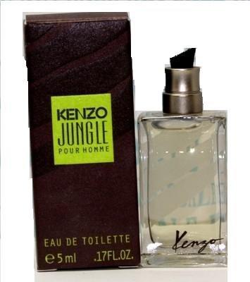 99b70de8e Amazon.com : Kenzo Jungle Pour Homme Men Cologne Mini 5Ml : Beauty