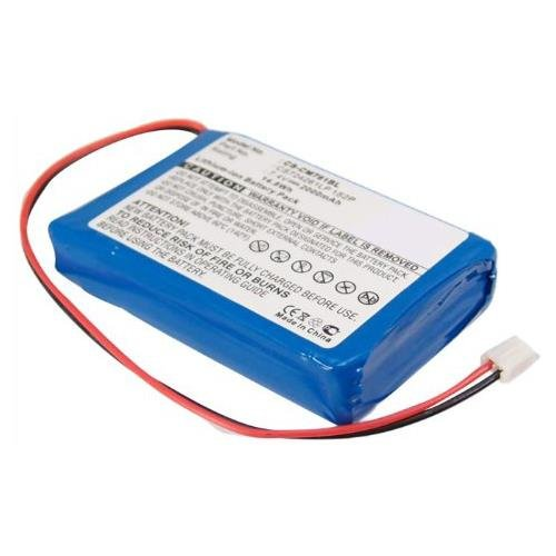 Olympia CS724261LP 1S2P Battery Replacement - (Li-Ion, 7.4V, 2000mAh) Ultra Hi-Capacity Battery by Synergy Digital