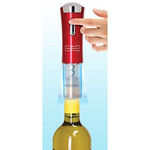 American Originals Automatic Wine Corkscrew Opener, Electric Rechargeable