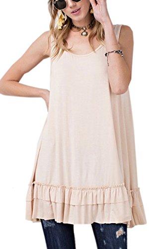 Ruffle Trim Shirt Dress - 3