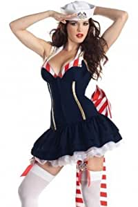 Sexy Pin Up Sailor Disfraz de Body Shaper Déguisements de ...