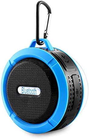 Waterproof Bathe Speaker, Bluetooth Wi-fi Speaker, Transportable Mini Hello-Fi Sound Speaker with Suction Cup, Enhanced Bass Loud HD Sound, 6H Playtime for Occasion, Lavatory, Journey, Dwelling, and Out of doors