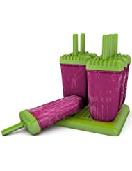 Popsicle Molds Ice Pop Molds Maker Tupperware Quality 6 Pieces BPA Free
