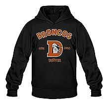 CYANY Super Bowl 50th Champion Denver 2016 Broncos Men's Summer Hoodies Hoodie Black