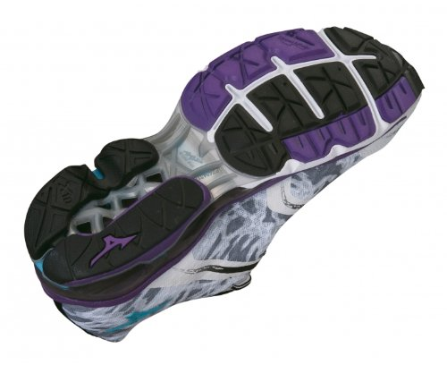 MIZUNO Wave Creation 15 Zapatilla de Running Señora Blanco / Morado