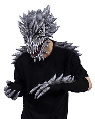 Zagone Studios Sid The Silver Dragon Costume Kit (Large) -