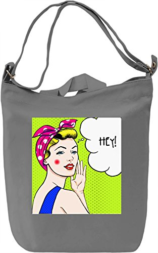 Retro Girl Borsa Giornaliera Canvas Canvas Day Bag| 100% Premium Cotton Canvas| DTG Printing|