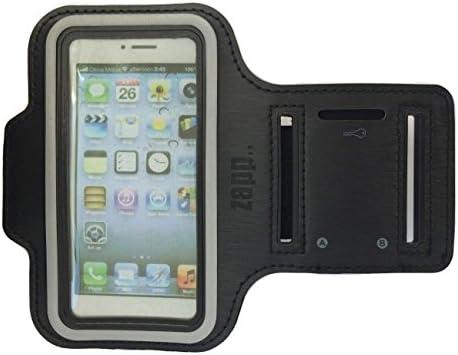 1b33120efa0 Zapp Gadgets - Brazalete para iPhone 5 5s 5c, unisex, completamente  ajustable con la correa de velcro, resistente a la intemperie,  antideslizante, ...