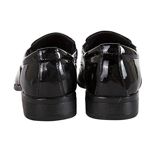 Robelli , Chaussures de ville à lacets pour homme Black HQ817-10