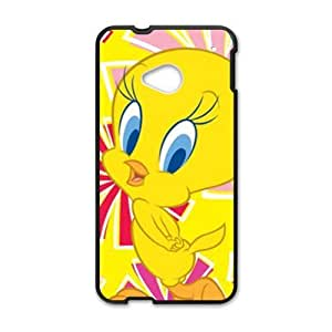 Lovely yellow duck Cell Phone Case for HTC One M7 hjbrhga1544