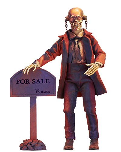 """NECA - Megadeth - 8"""" Clothed Action Figure - Peace Sells... Vic Rattlehead, Multicolor"""