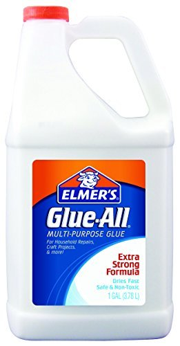 Elmer's E1326 1 gal/ 3.78 Litre Glue-All Multi-Purpose Glue, White by Elmer's