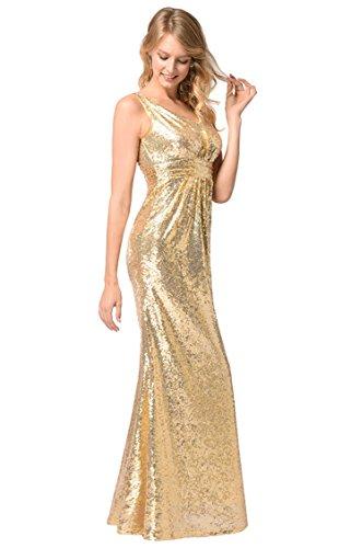 Dress Sequins Evening Elegant Sequin Golden Sleeveless Dresses Comvison Backless Tank gIwBqW