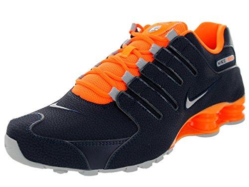 Tttl Uomo Gry S Scarpe Nike Orng Wlf Shox NZ EU Mtllc Sportive Obsdn WxHnwfBRcq