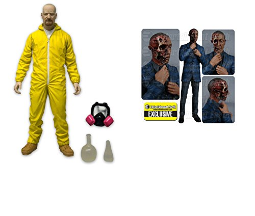 Breaking Bad Collectibles- Walter White and Gus Fring Burned Face Figure