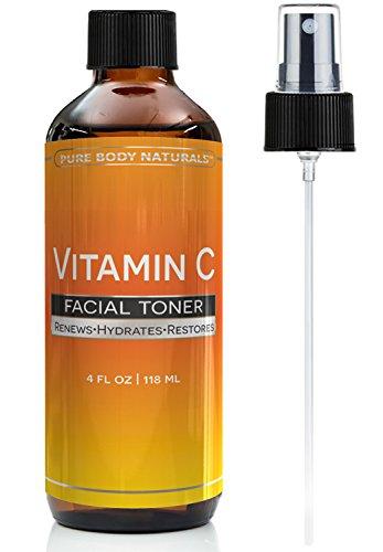Pure Body Naturals Vitamin C Serum For Face