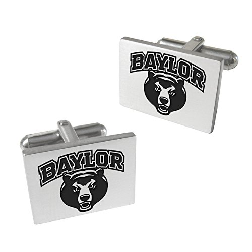 Baylor Bears Stainless Steel Original Style Cufflinks