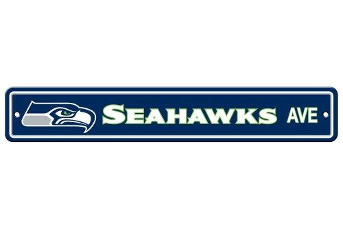 Fremont Die NFL Seattle Seahawks Plastic Street Sign ()